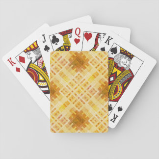 Wooden Pattern Playing Cards