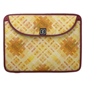 "Wooden Pattern Rickshaw 15"" MacBook Pro Sleeve"