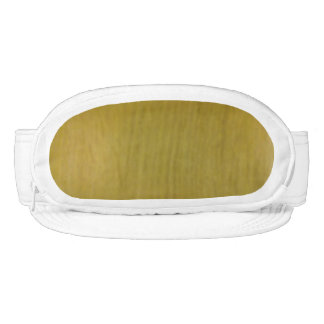Wooden pattern visor