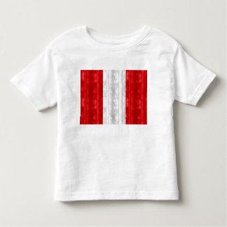 Wooden Peruvian Flag Toddler T-shirt