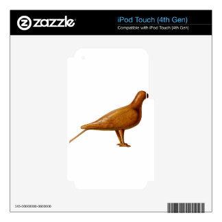 Wooden Pigeon iPod Touch 4G Decals