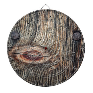 Wooden Plank Photo Dart Board