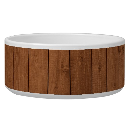 Wooden Planks, Barks, Boards, Barn Wall - Brown Bowl