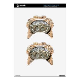 Wooden plaque Furelos Bridge, El Camino, Spain Xbox 360 Controller Skin