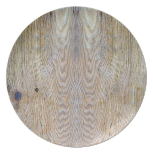 Wooden - Plate