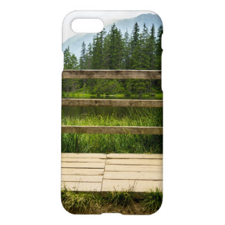 Wooden Platform Lake Landscape Photo iPhone 7 Case