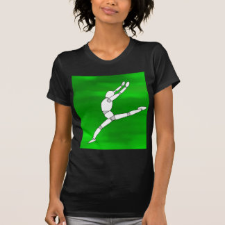Wooden Pose Dancing T-Shirt