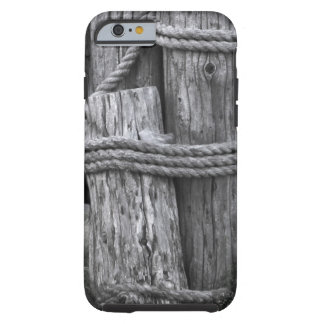 Wooden Posts Tough iPhone 6 Case