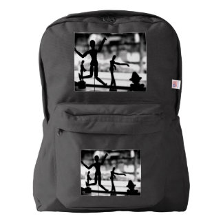 Wooden Puppet BW Backpack
