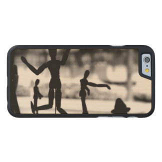 Wooden Puppet BW Carved® Maple iPhone 6 Case