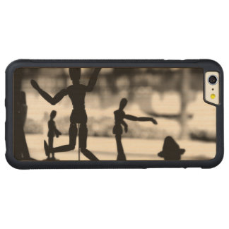 Wooden Puppet BW Carved® Maple iPhone 6 Plus Bumper Case