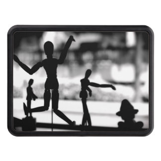 Wooden Puppet BW Hitch Cover
