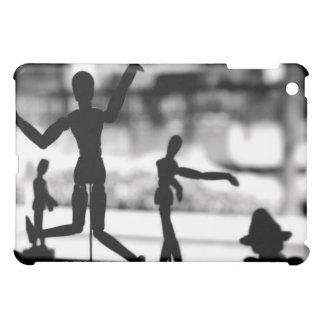 Wooden Puppet BW iPad Mini Cases