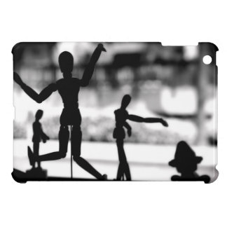 Wooden Puppet BW iPad Mini Cover