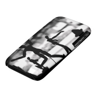 Wooden Puppet BW iPhone 3 Case-Mate Case