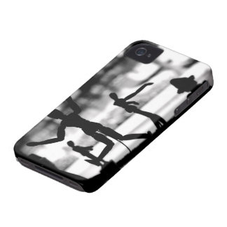 Wooden Puppet BW iPhone 4 Case-Mate Case