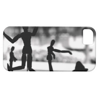 Wooden Puppet BW iPhone SE/5/5s Case