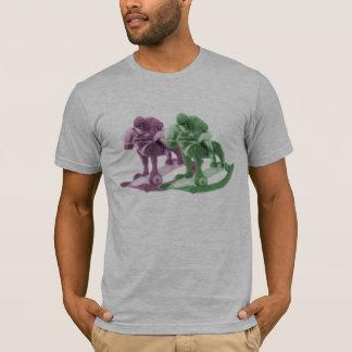 Wooden race of horses T-Shirt