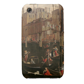 Wooden Rialto Bridge from the Miracle of the Reli Case-Mate iPhone 3 Cases