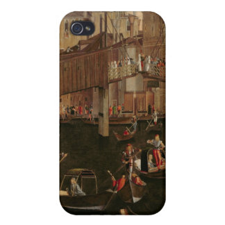 Wooden Rialto Bridge from the Miracle of the Reli iPhone 4 Cases