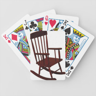Wooden Rocking Chair Bicycle Playing Cards