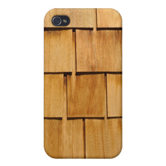 Wooden Roof Tile iPhone Cover Case