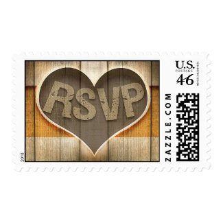 wooden rsvp stamps