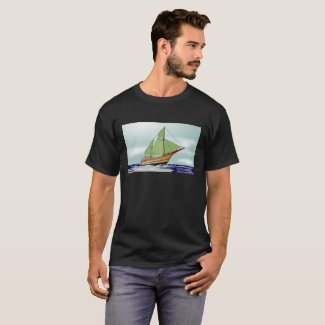 Wooden Sailboat T-Shirt