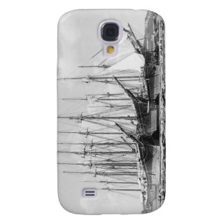 Wooden Sailing Ships, 1905 Galaxy S4 Case