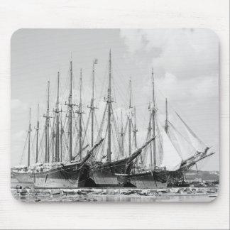 Wooden Sailing Ships, 1905 Mouse Pad