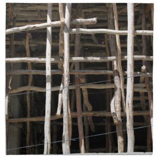 Wooden Scaffold Cloth Napkin