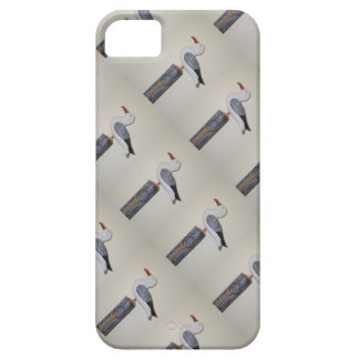 Wooden Seagull perched on your iPhone 5/5S Case