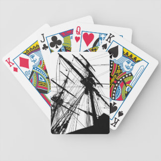 Wooden Ship Bicycle Playing Cards