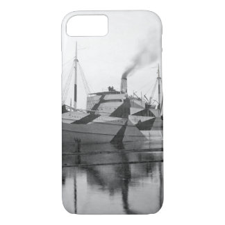 Wooden ship built for United_War image iPhone 8/7 Case