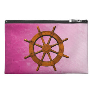 Wooden Ship Wheel Travel Accessories Bags