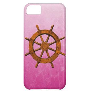Wooden Ship Wheel iPhone 5C Cases