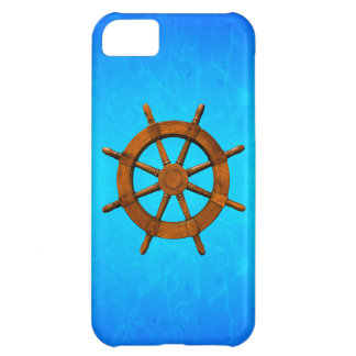 Wooden Ship Wheel iPhone 5C Cover