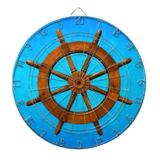Wooden Ship Wheel Dartboards
