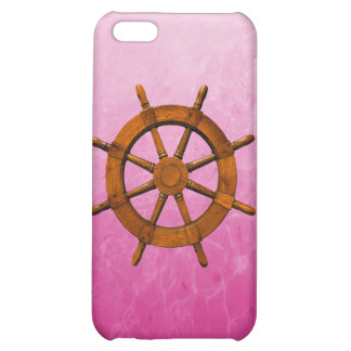Wooden Ship Wheel iPhone 5C Covers