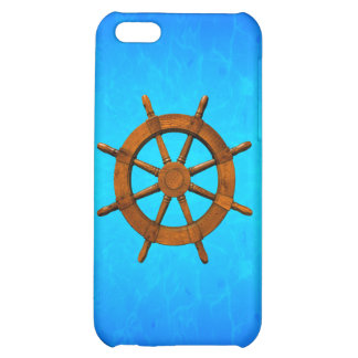 Wooden Ship Wheel iPhone 5C Case