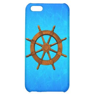 Wooden Ship Wheel iPhone 5C Case