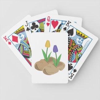 Wooden Shoe Tulips Bicycle Playing Cards