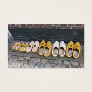 Wooden Shoes/ Clogs Small Photo Card