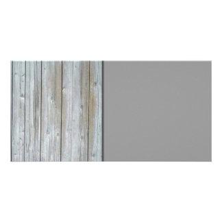 Wooden Siding Photo Card