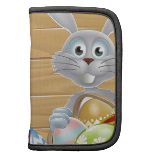 Wooden sign Easter white rabbit Folio Planners