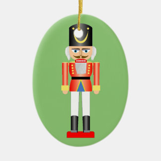Wooden Soldier Christmas Ornament 1