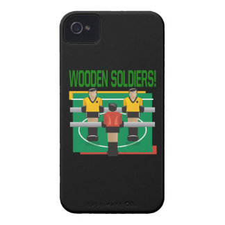 Wooden Soldiers Case-Mate iPhone 4 Case