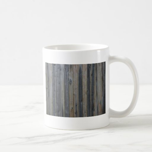 Wooden solid slat fence , perfect background coffee mugs