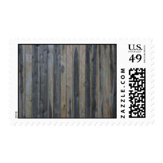 Wooden solid slat fence , perfect background postage stamp