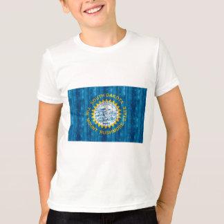 Wooden South Dakotan Flag T-Shirt